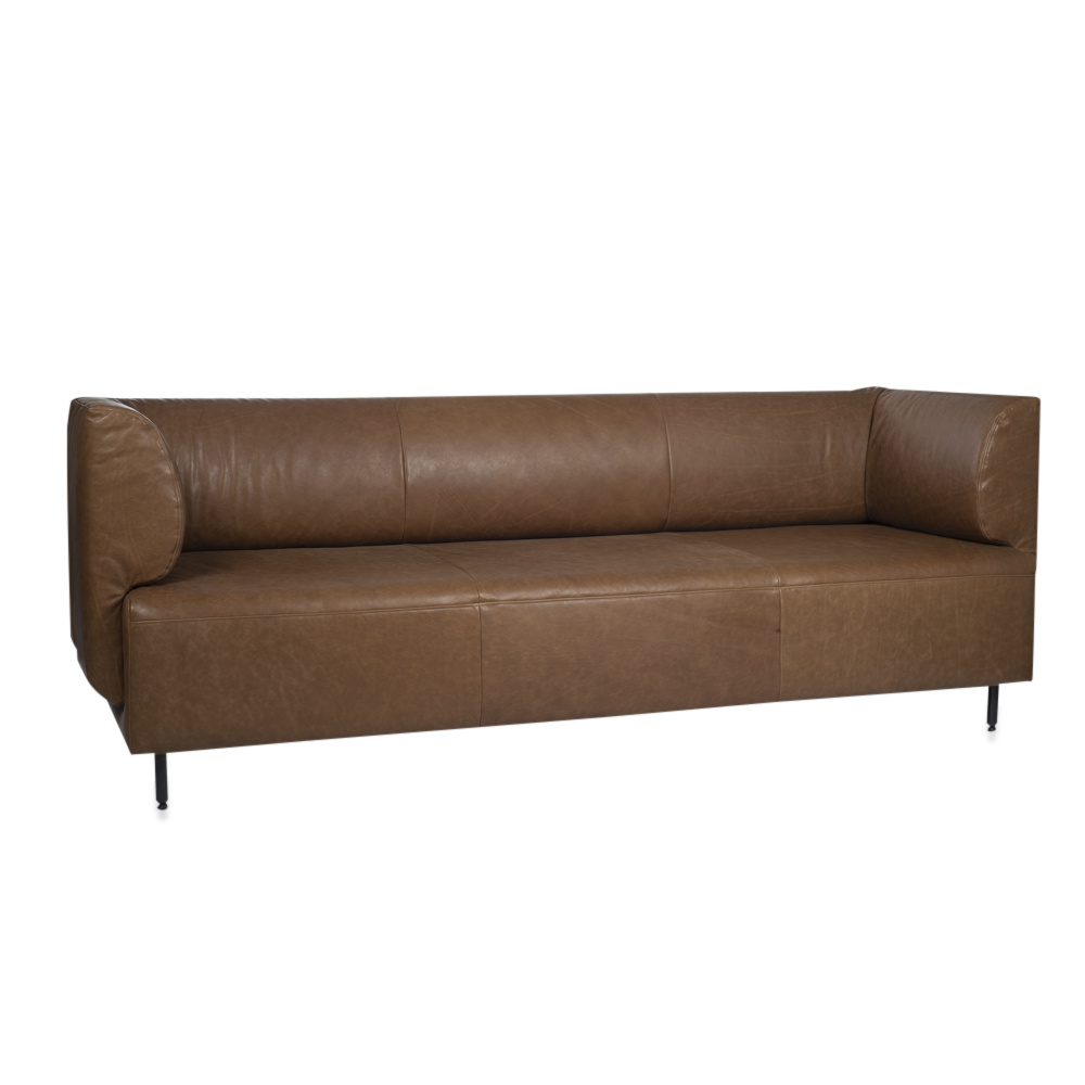 Tray Sofa 2Arms Low Luxor Fango Light Pers Kopiëren