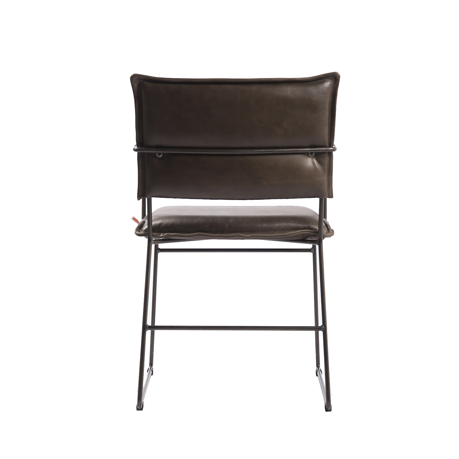 Norman Diningchair Arm Luxor Grey Back (1)